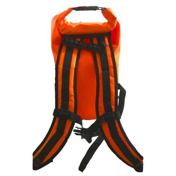 sac a dos étanche orange