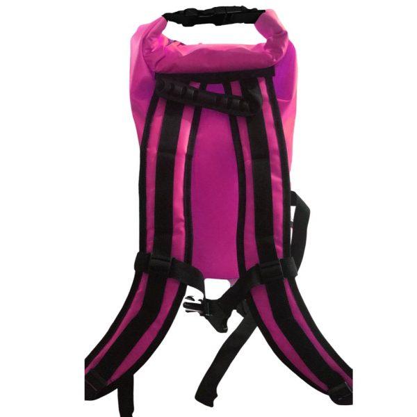 sac a dos étanche rose