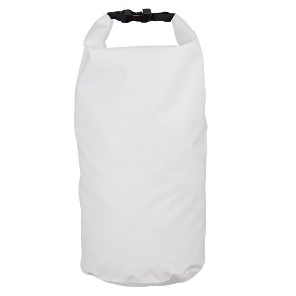 sac étanche blanc 10 litre recto