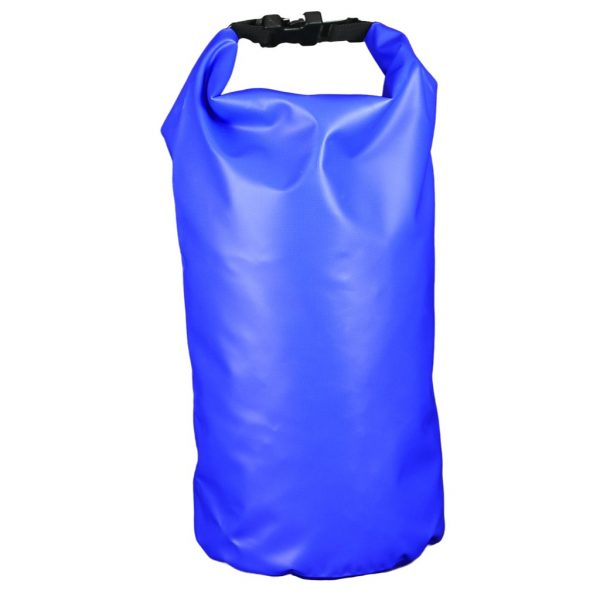 sac étanche bleu 10 litre recto