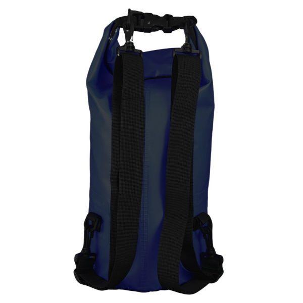 sac étanche noir 10 litre verso