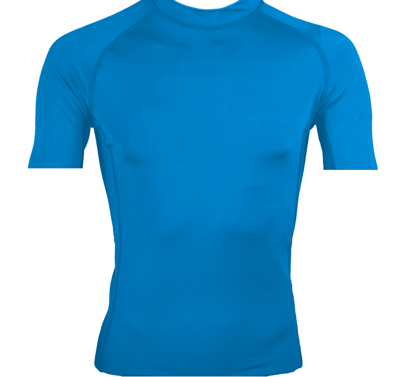 lycra personnalisable bleu